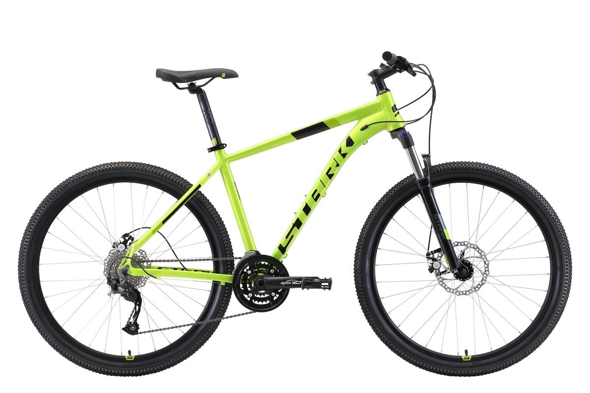 Велосипед STARK Router 27.4 D 2019 20 зелёный/чёрный