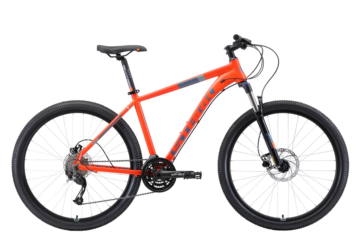 Велосипед STARK Router 27.4 HD 2019 20 оранжевый/серый