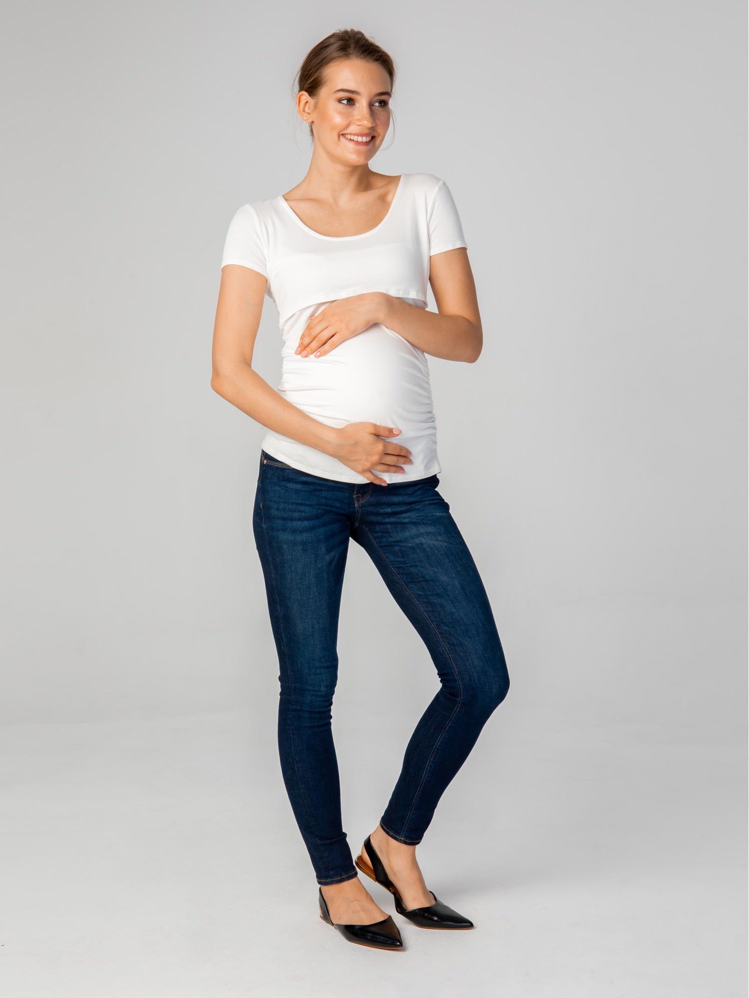 Футболка Pangnancy для беременных гимнастика на последних сроках беременности