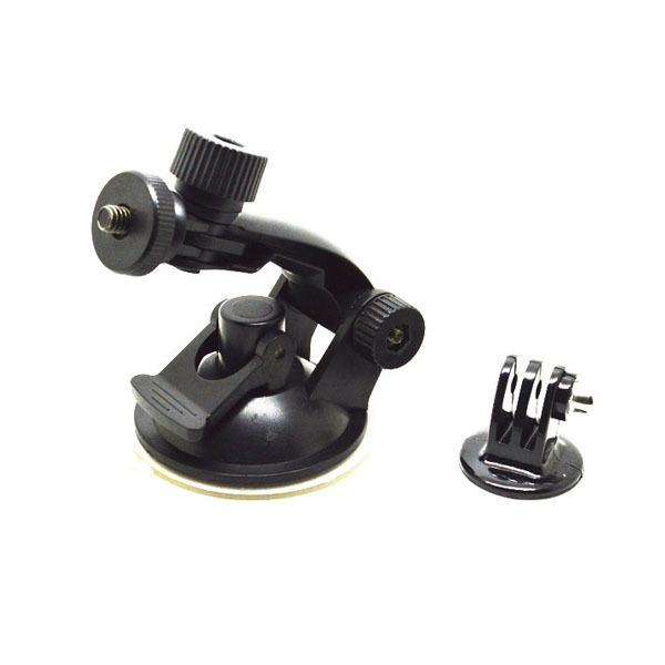 Крепление-присоска GoodChoice для экшн камер GoPro, SJCAM, Xiaomi с адаптером аксессуар крепление присоска drift suction cup mount 30 007 00