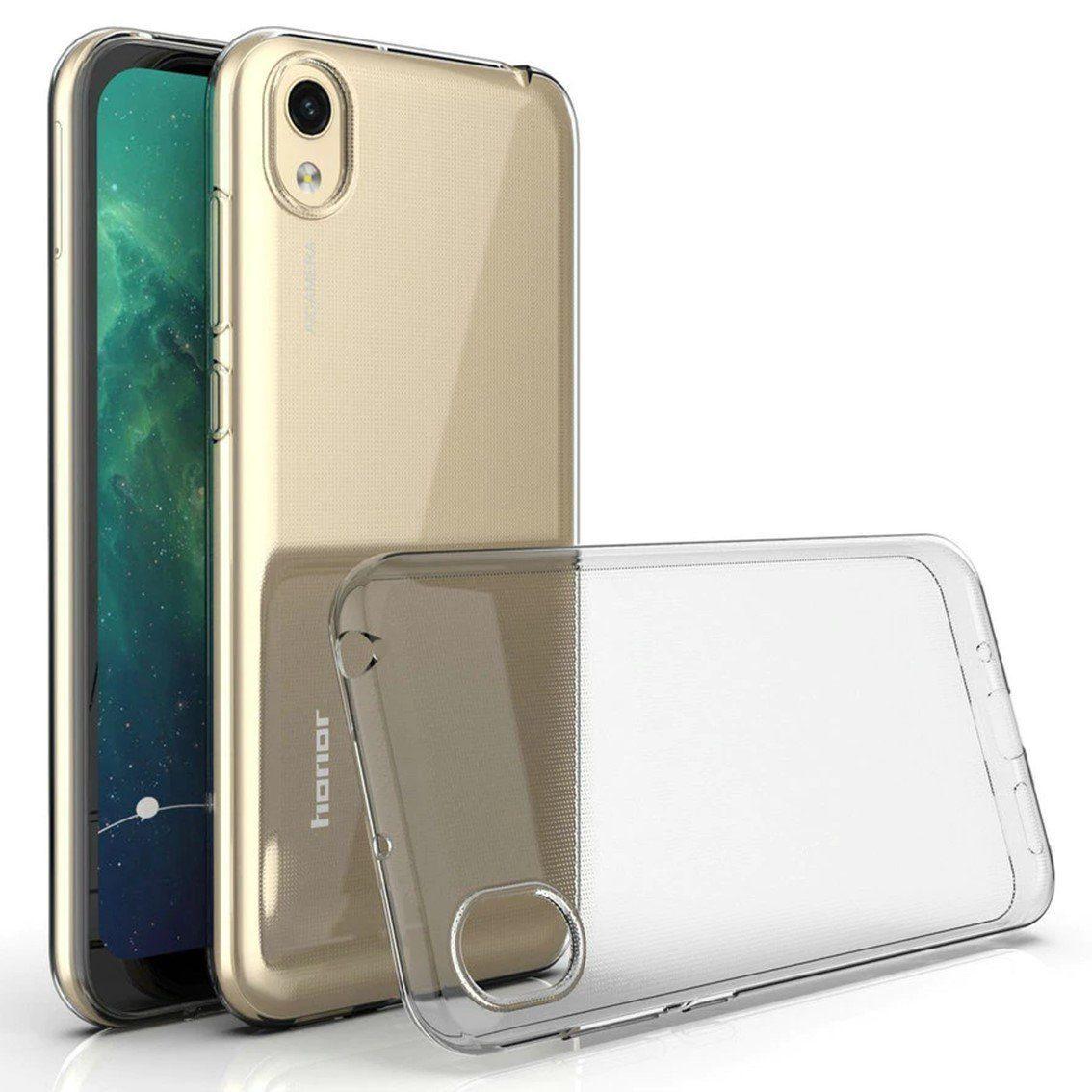 Силиконовый чехол для Huawei  Honor 8S Прозрачный