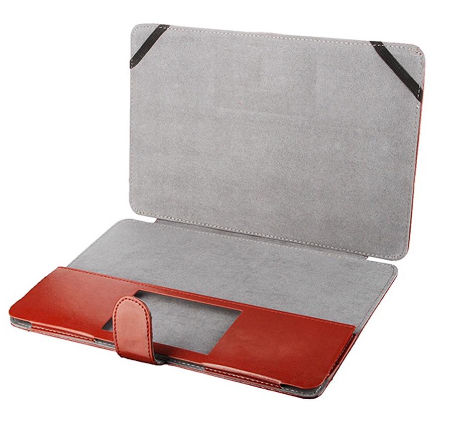 Apple Macbook 13 3Чехолкнижка в виде папки с заклепкой Мобильная Мода коричневый