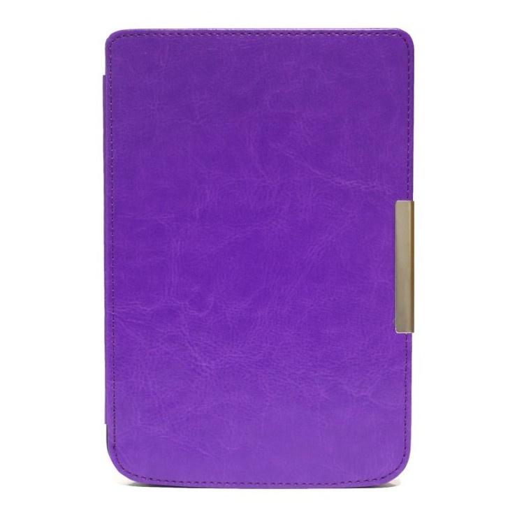 Чехол skinBOX hard case with clips для электронной книги PocketBook 614/615/624/625/626 Фиолетовый