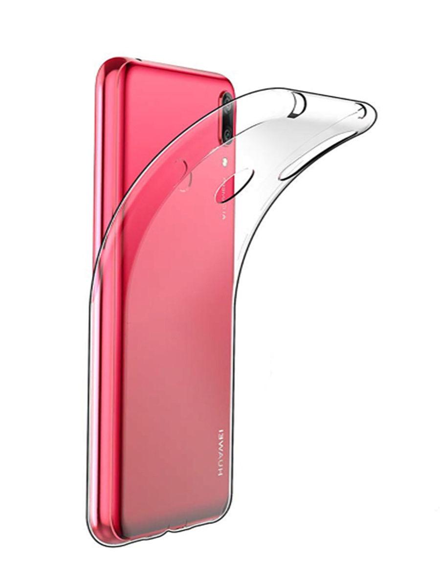 Силиконовый чехол для Huawei Y6 2019 /Honor 8A Прозрачный