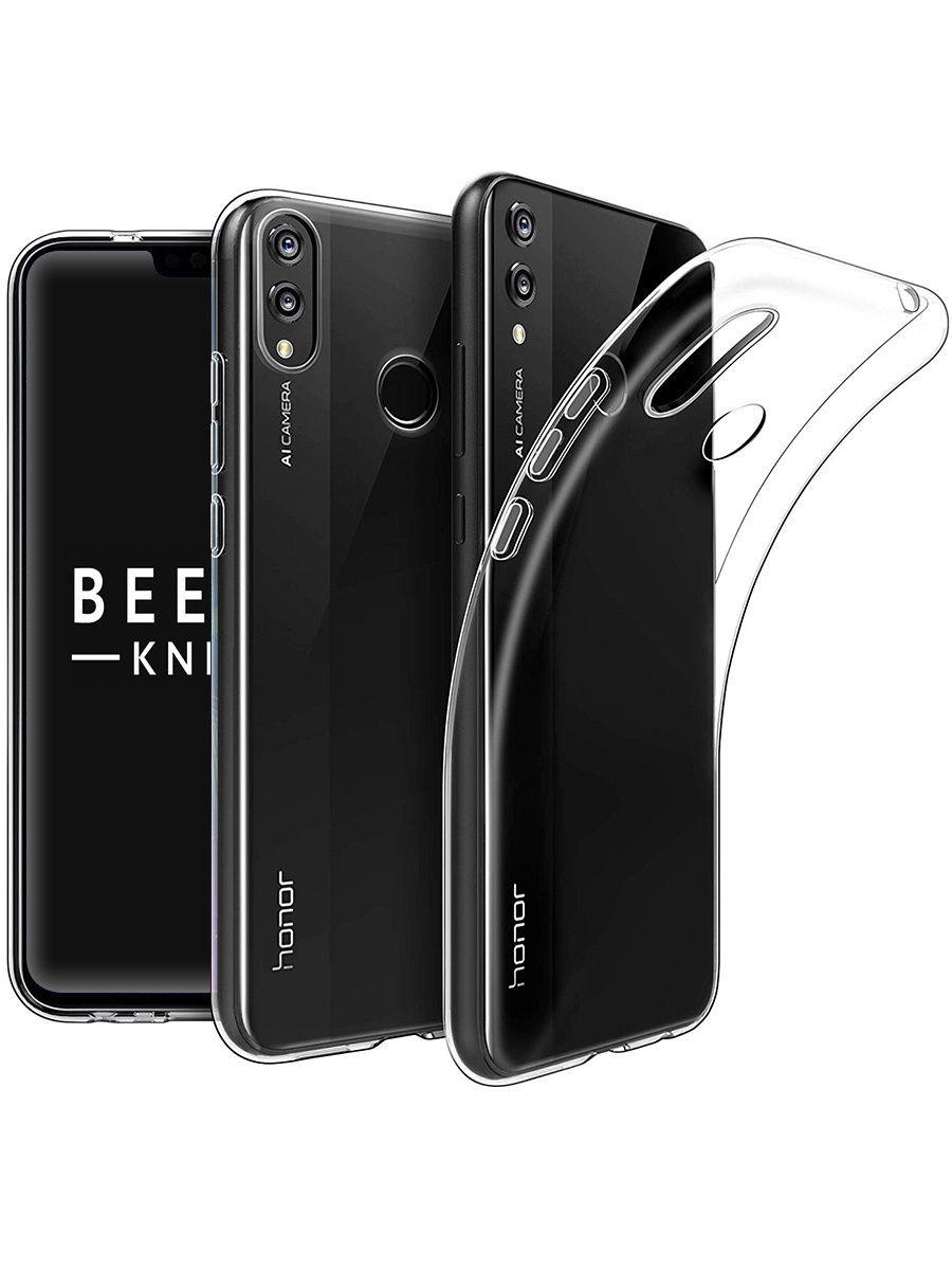Силиконовый чехол для Huawei Honor 8X Прозрачный