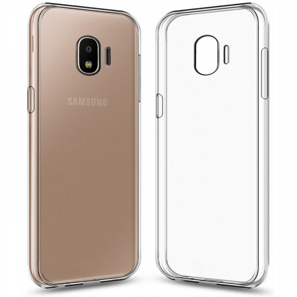 Силиконовый чехол для Samsung Galaxy J2 Core Прозрачный половина цветочным узором мягкая обложка тонкий тпу резиновый силиконовый гель чехол для samsung galaxy j2 2016 j210