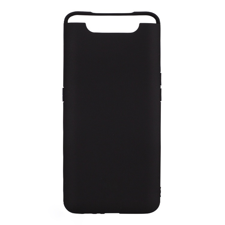 Силиконовый защитный бампер для Samsung Galaxy A80 Черный moshiqisuoni c3 сотовый телефон дела небольшой зеленый сердце s55t оболочки sonyc3 силиконовый защитный чехол