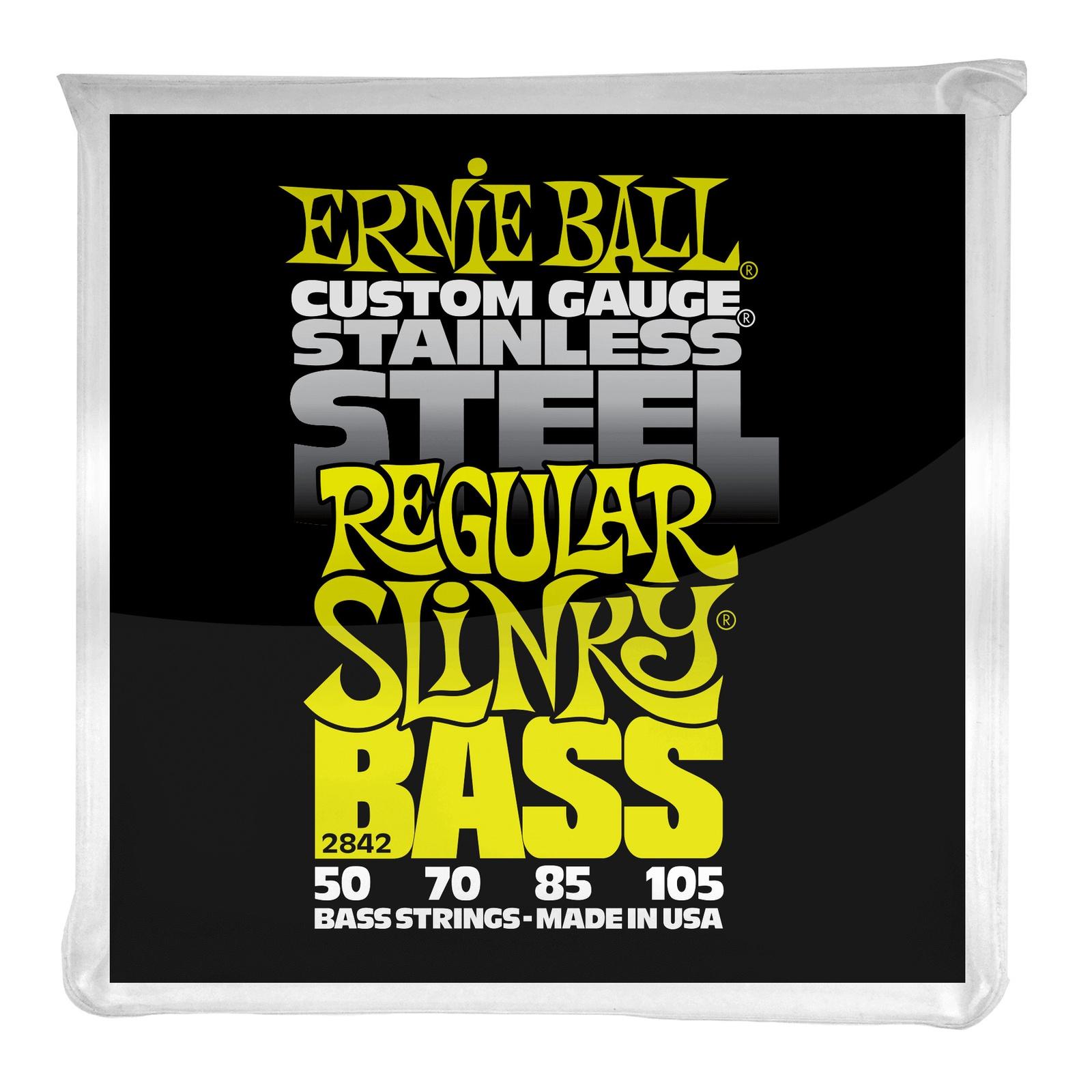 лучшая цена Струны для бас гитары Ernie Ball 2842