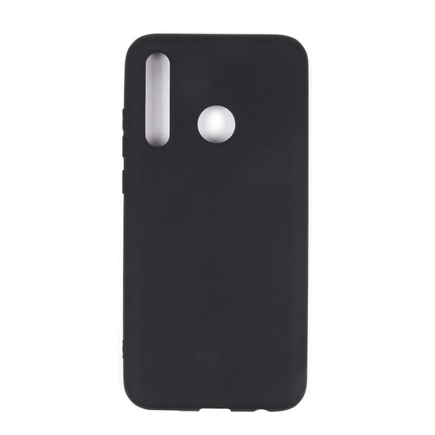 Силиконовый защитный бампер для Huawei Honor 20i Черный moshiqisuoni c3 сотовый телефон дела небольшой зеленый сердце s55t оболочки sonyc3 силиконовый защитный чехол