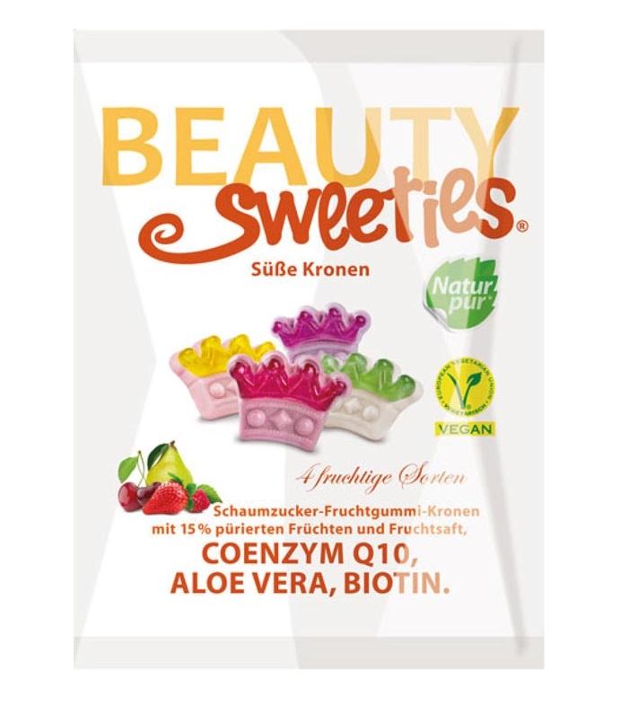 """Жевательный мармелад BeautySweeties """"Crowns"""" (""""Сладкие Короны""""), ассорти из 4 вкусов, 125г"""