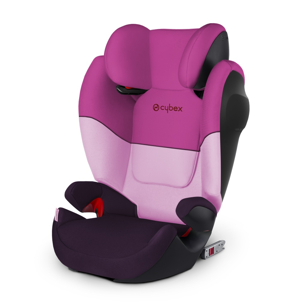 Автокресло Cybex Solution M-Fix SL (Purple Rain) автокресло cybex solution x2 fix
