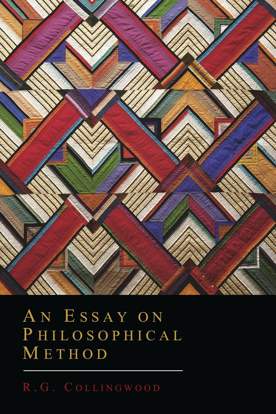 R. G. Collingwood An Essay on Philosophical Method r g latham the natural history of the varieties of man