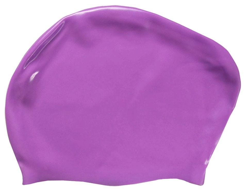 Шапочка для плавания силиконовая Dobest для длинных волос KW30 (фиолетовый) dobest силиконовая шапочка для плавания dobest фиолетовая