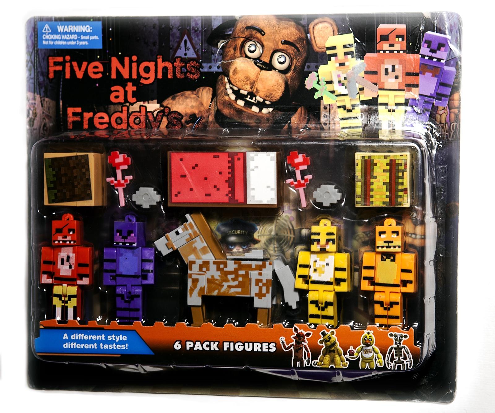 Набор фигурок Five Nights at Freddy's 10 см 5 шт + аксессуары