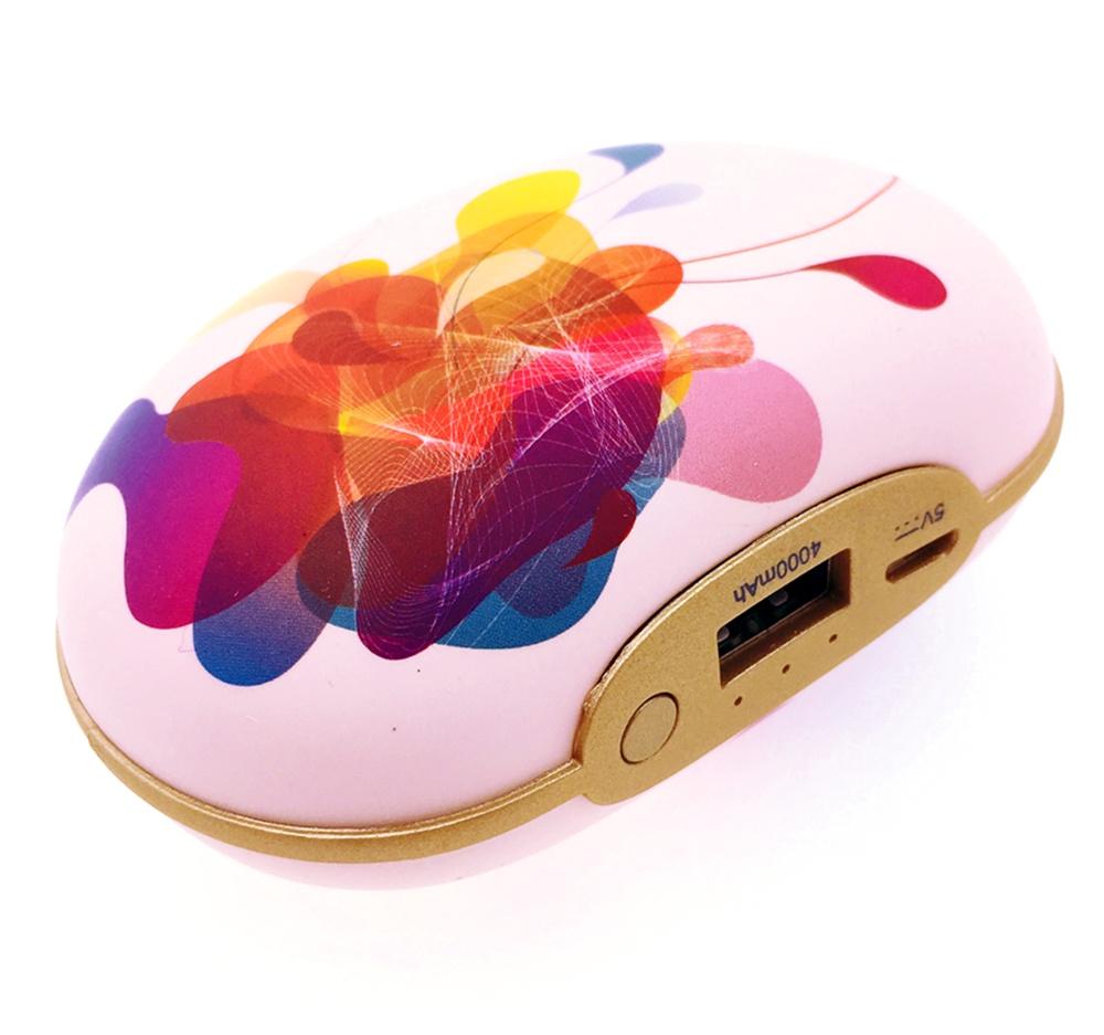 Внешний аккумулятор с функцией массажа и обогрева рук Joyroom CHICHARITO, светло-розовый
