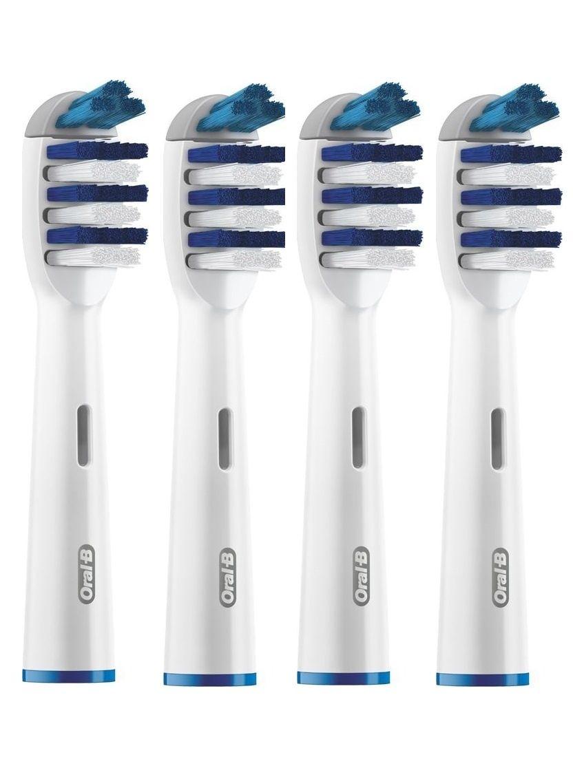 Насадка для зубных щеток Oral-B TriZone (4 шт) EB 30-4 насадка для зубных щеток oral b precision clean 4 шт eb 20 4