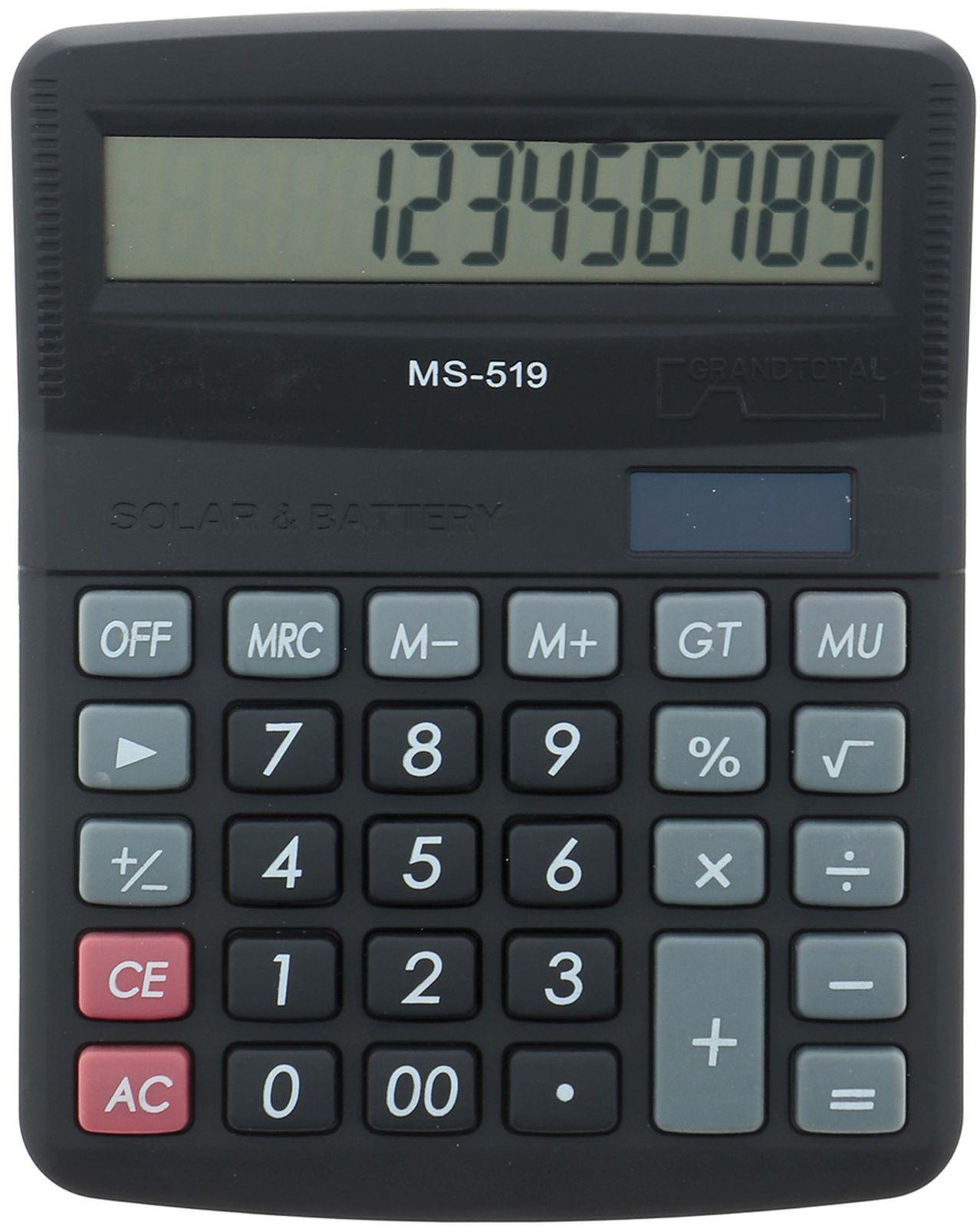 Калькулятор 519-MS, настольный, 12-разрядный, 1151878, мультиколор