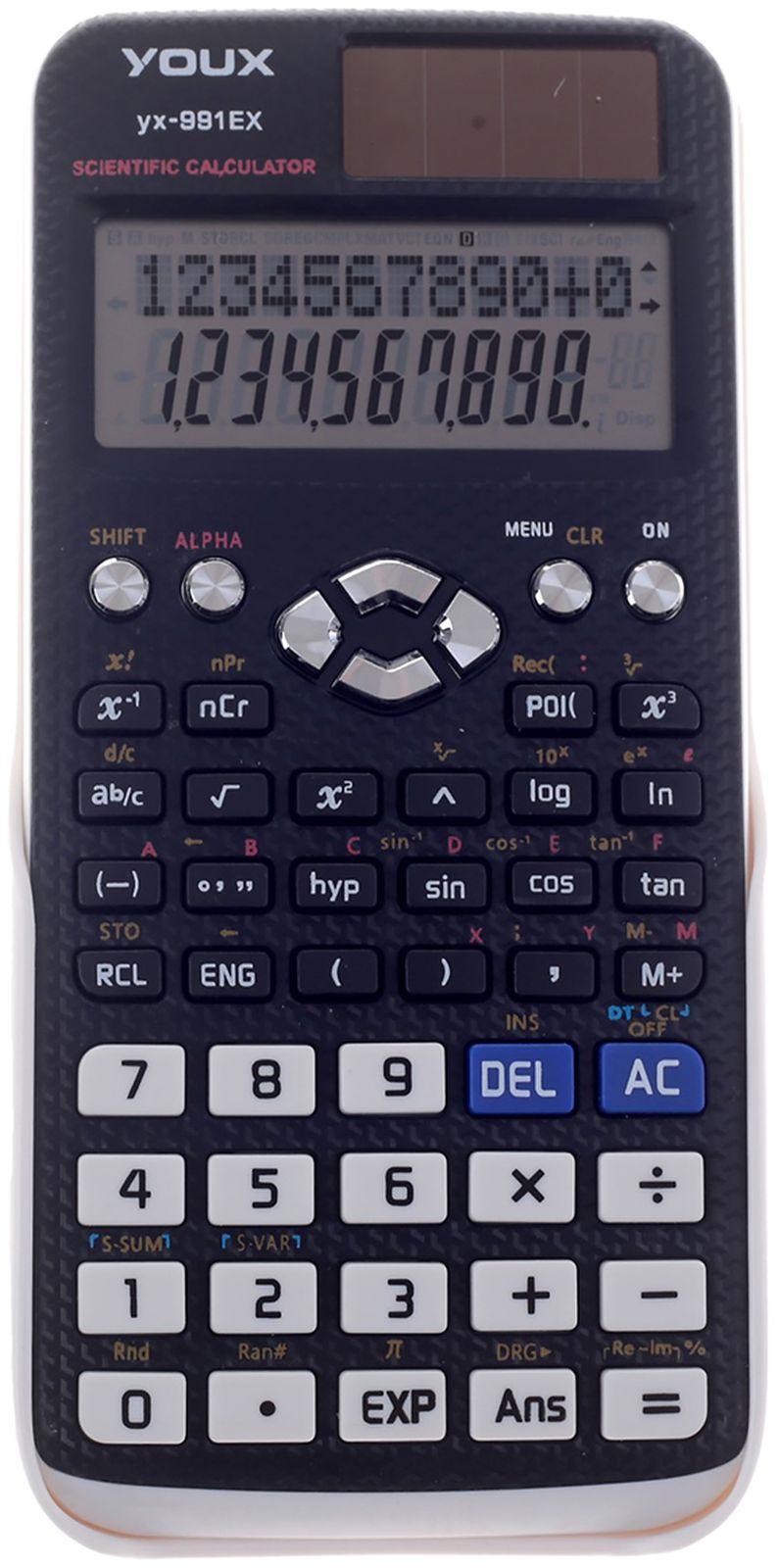 Калькулятор fx-991ES, инженерный, 10-разрядный, двухстрочный, 1968931, мультиколор цены онлайн