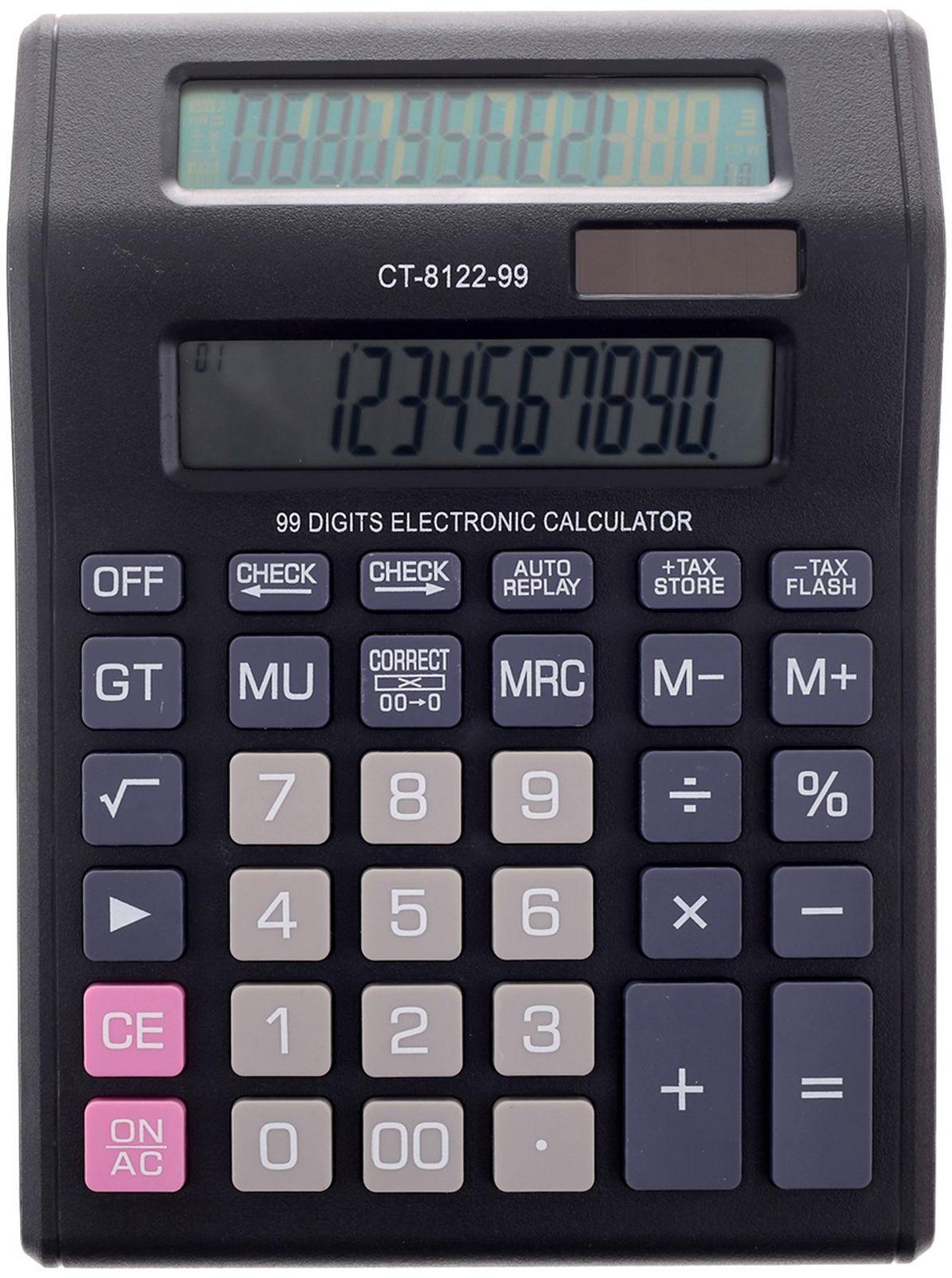 Калькулятор CT-8122-99, настольный, 12-разрядный, 2404990, мультиколор