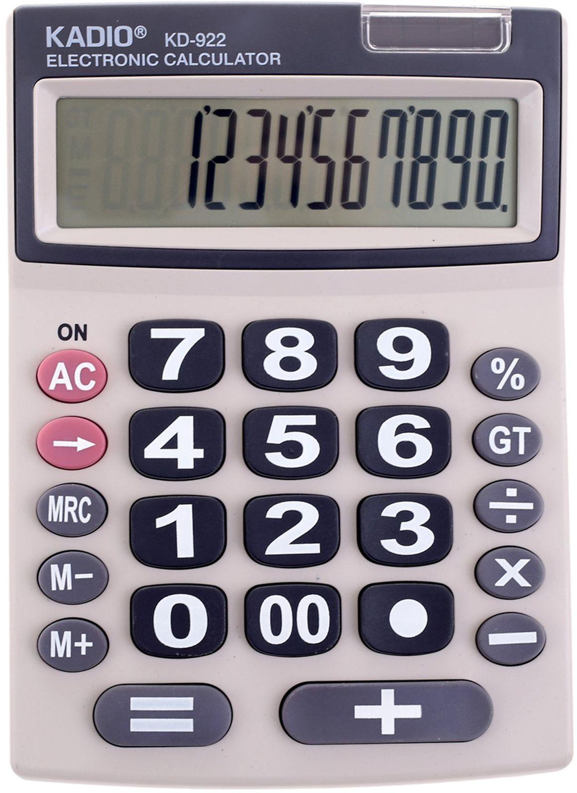 Калькулятор 922, настольный, 12-разрядный, 2694282, мультиколор
