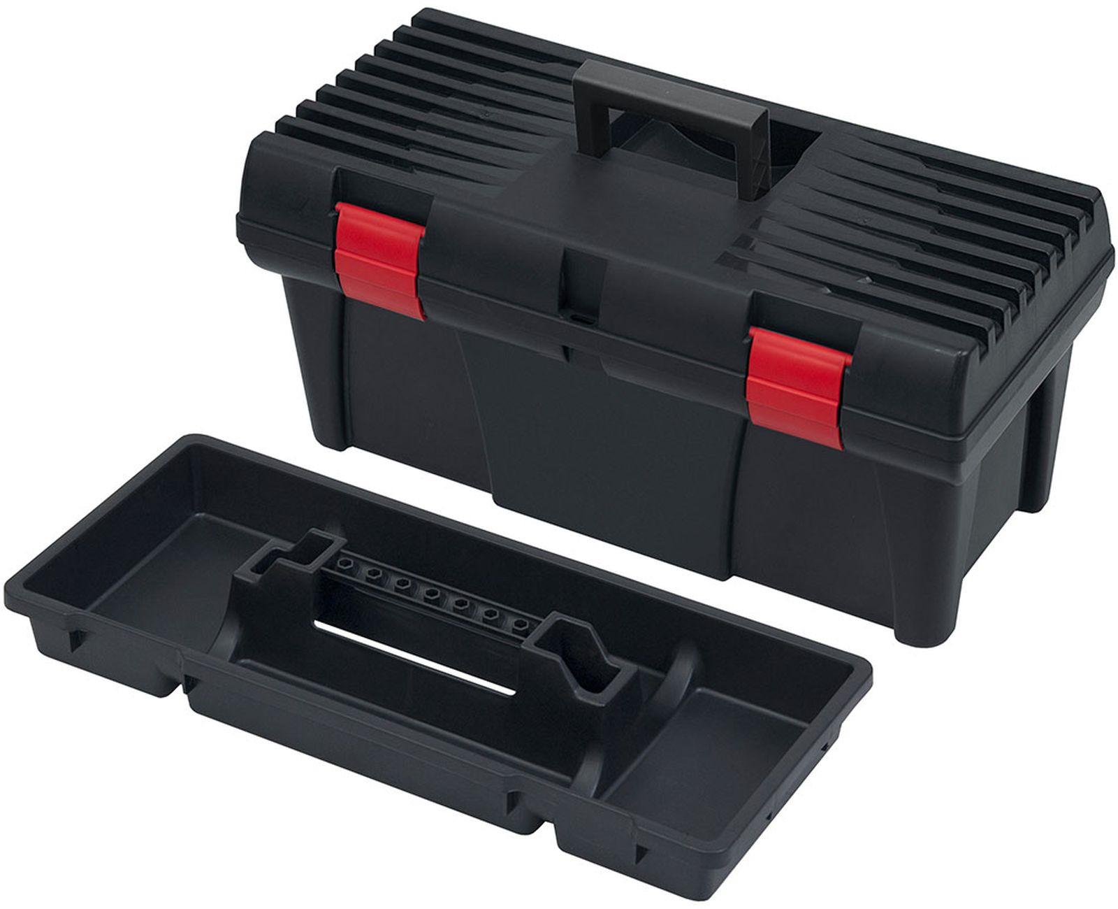 Ящик для инструментов Patrol Stuff, 146175, черный, 53 х 26 х 25 см сумка для инструментов berger мюриц 48 х 26 х 25 см bg1193