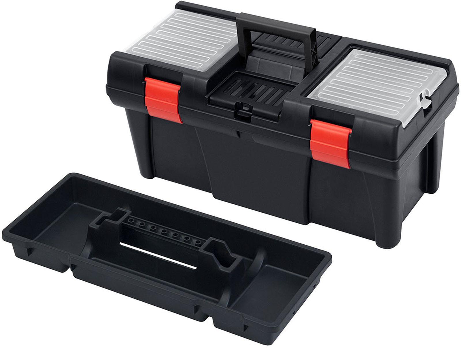 Ящик для инструментов Patrol Stuff, 146179, черный, 53 х 26 х 25 см сумка для инструментов berger мюриц 48 х 26 х 25 см bg1193