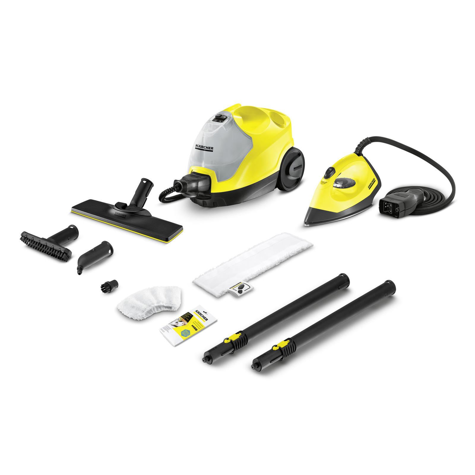 Пароочиститель Karcher SC 4 EasyFix Iron, желтый
