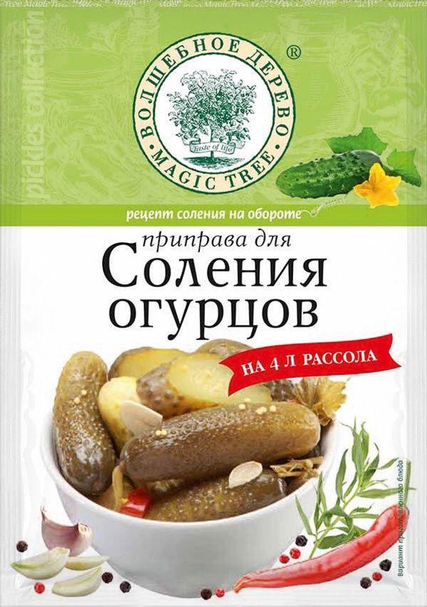 Приправа для соления огурцов 35г, Волшебное дерево приправа для рыбы волшебное дерево лимонная 55 г