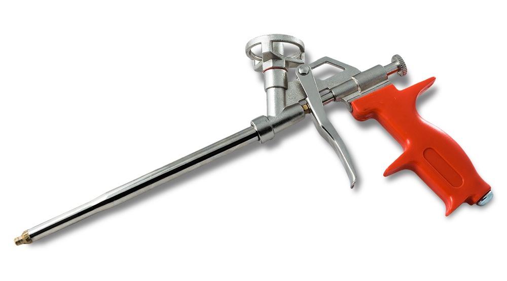 Пистолет для монтажной пены, алюминиевый, GROSSMEISTER