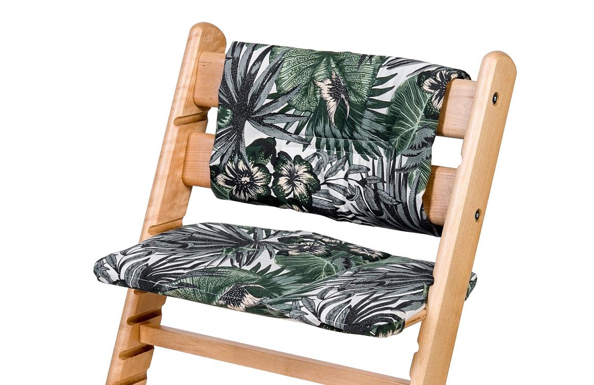 Комплект подушек для стульчика Kid-Fix, расцветка Джунгли