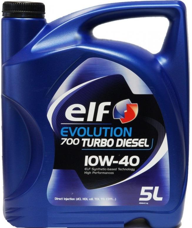 цена на Моторное масло Elf Evolution. 700 Turbo Diesel, 10W-40, 4 л