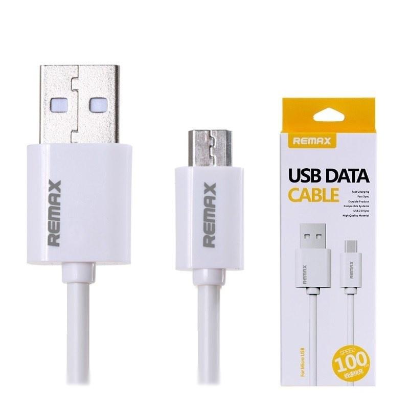USB кабель Remax RC-007m Fast Charging Micro, белый цена