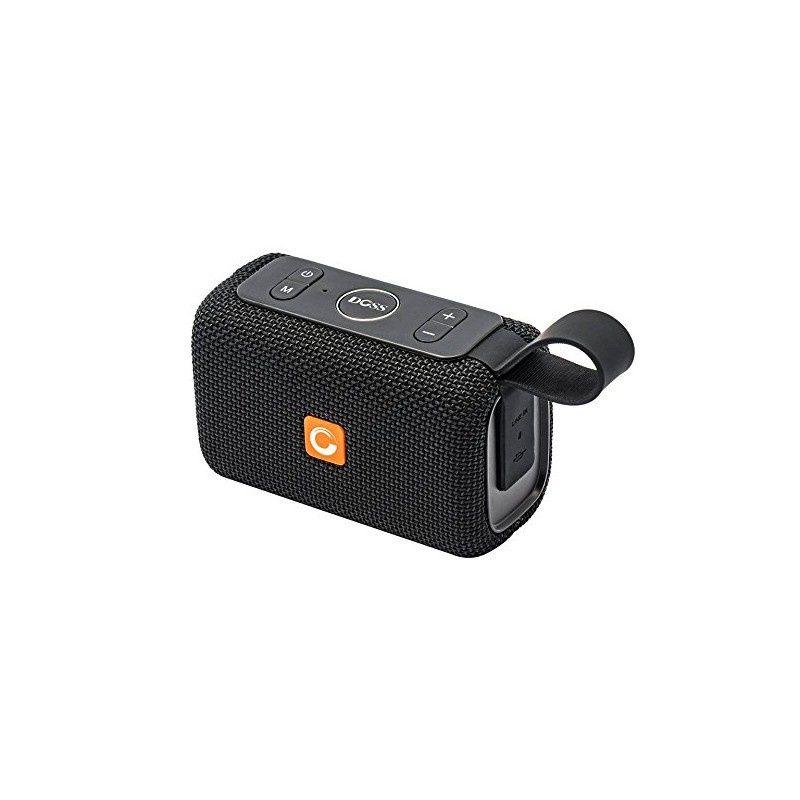 Портативная акустическая система DOSS E-go, RUGL8112418, черный