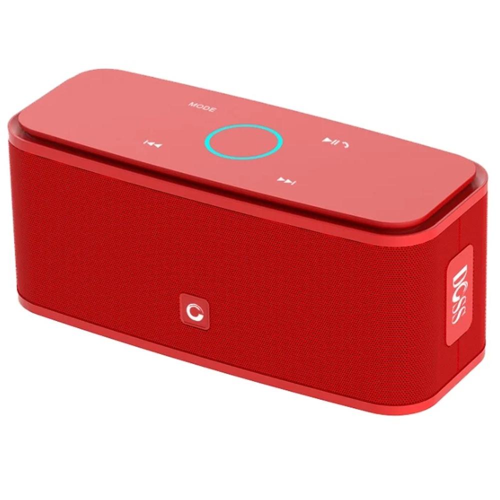 Портативная акустическая система DOSS SoundBox Touch, RUGL8112418, красный