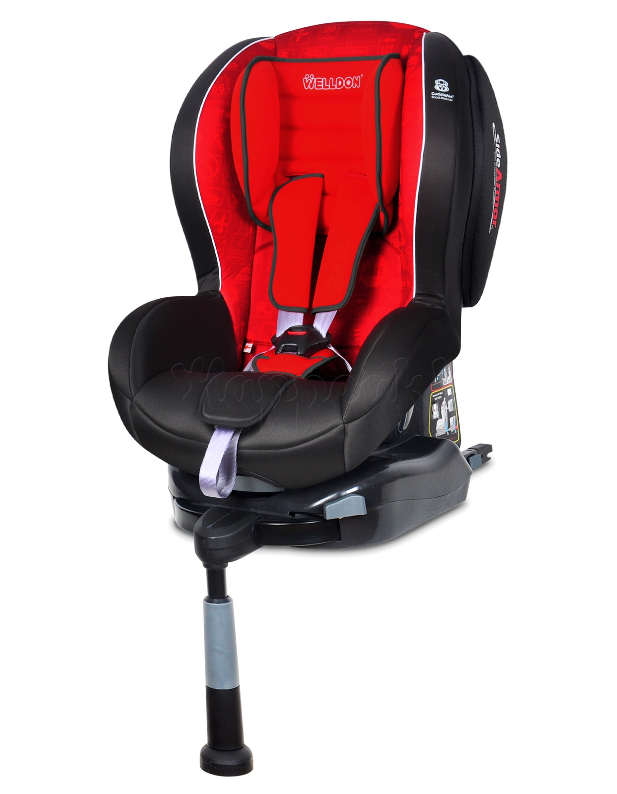 Автокресло Welldon Royal Baby Isofix (Traffic Sign) автокресло welldon royal baby side armor