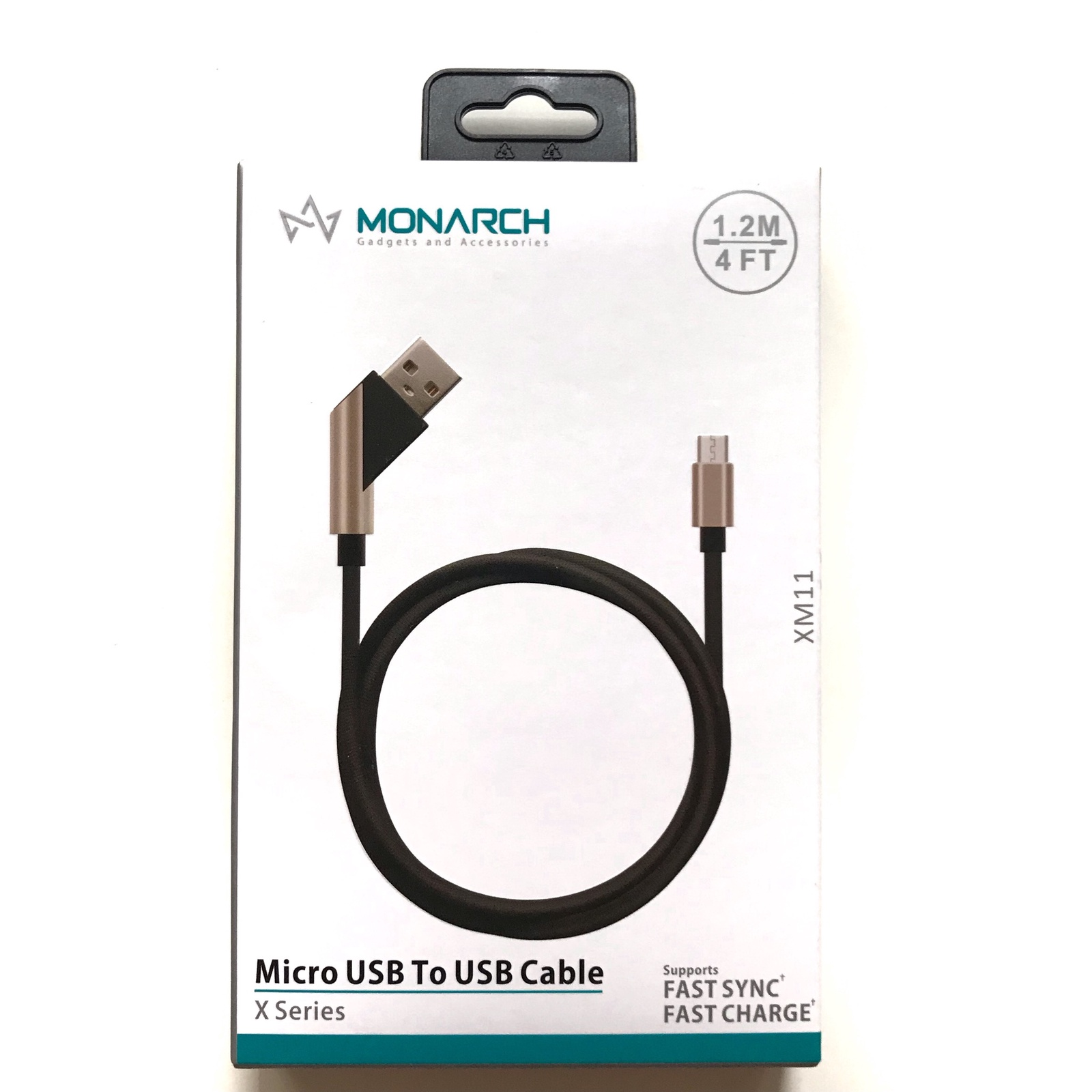 Кабель Monarch USB для Samsung черный