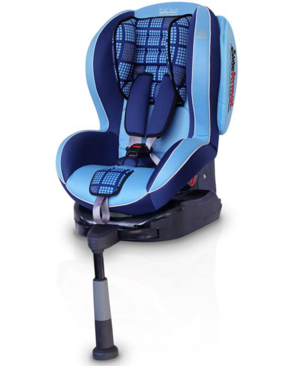 Автокресло Welldon Royal Baby Isofix (Blue) автокресло welldon royal baby side armor