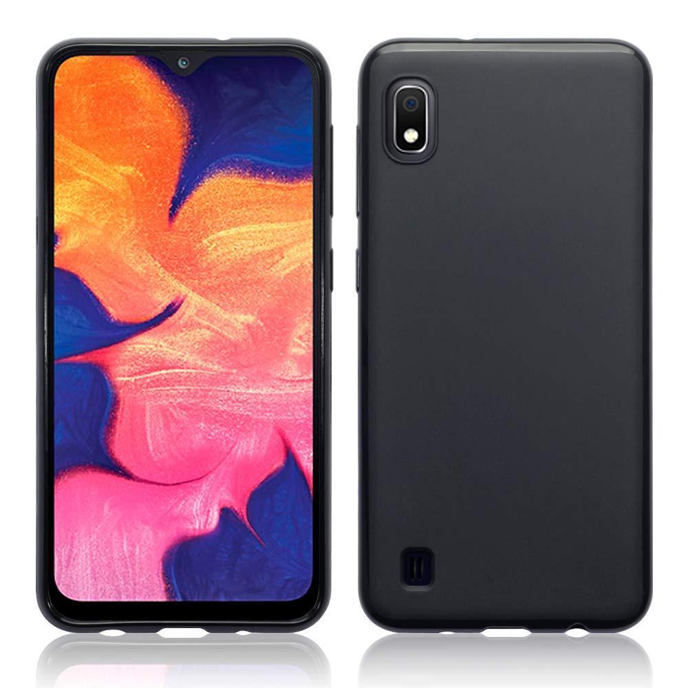 Матовый силиконовый чехол для Samsung Galaxy A10, черный