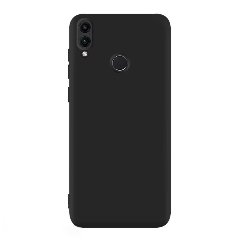 Силиконовый защитный бампер для Huawei Honor 8C Черный moshiqisuoni c3 сотовый телефон дела небольшой зеленый сердце s55t оболочки sonyc3 силиконовый защитный чехол