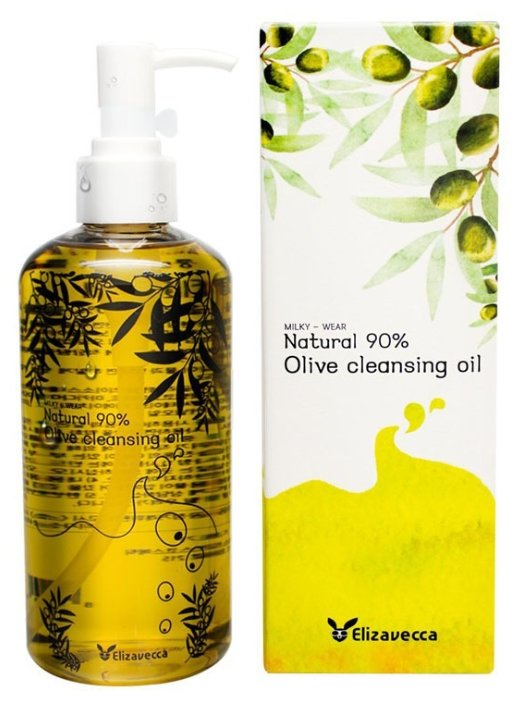 Масло гидрофильное Elizavecca natural 90 olive cleansing oil
