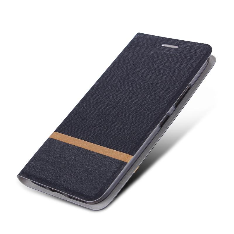цена на Чехол-книжка MyPads для BlackBerry Motion / BlackBerry Krypton на жёсткой металлической основе чёрный