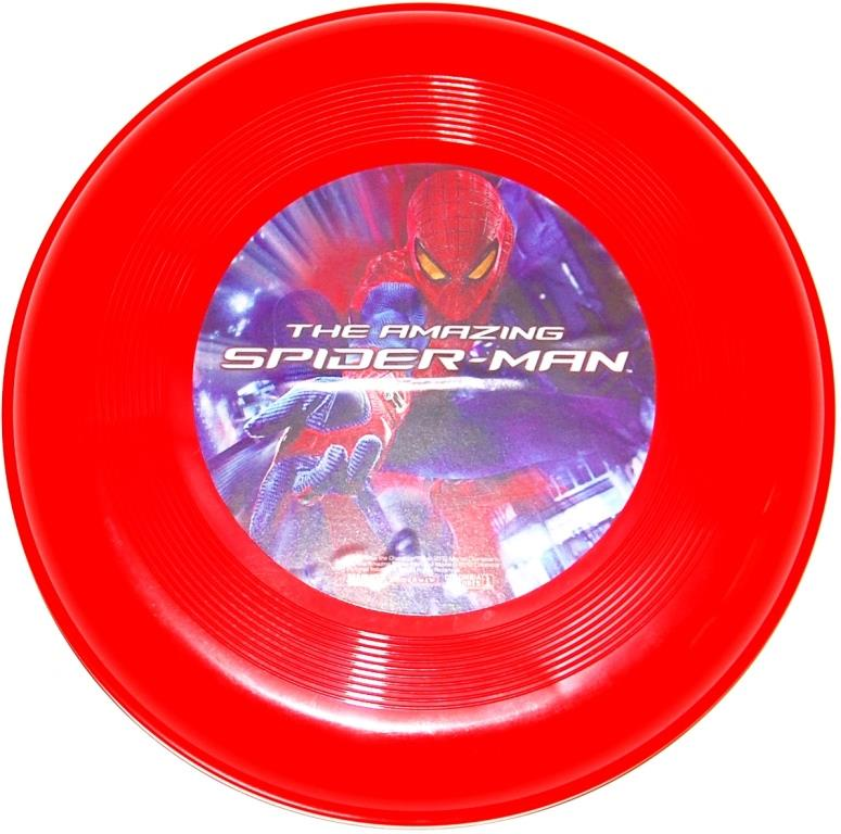 Летающая тарелка Человек Паук OV902SP, красная