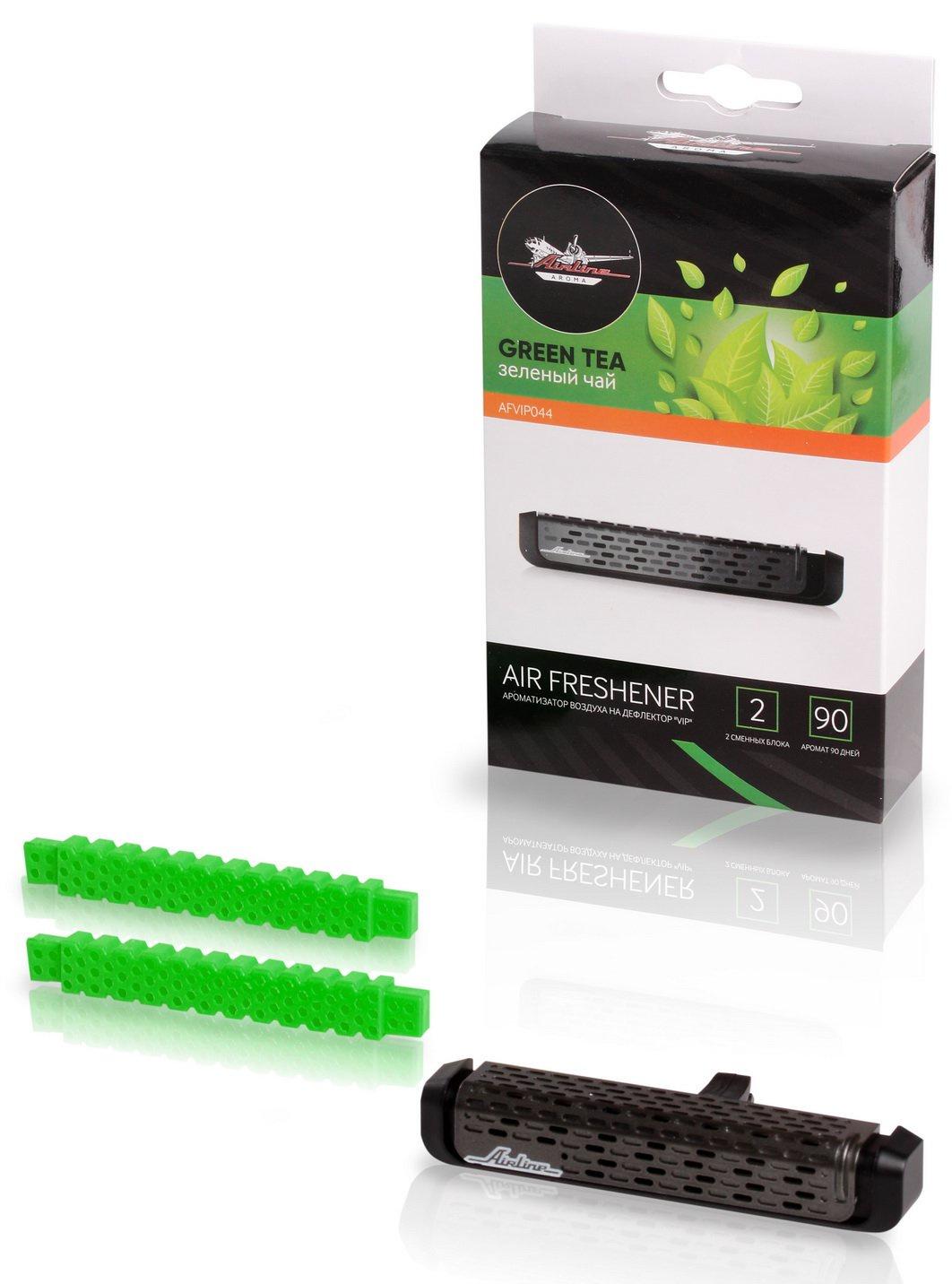 Фото - Ароматизатор на дефлектор VIP зеленый чай (AFVIP044) авто