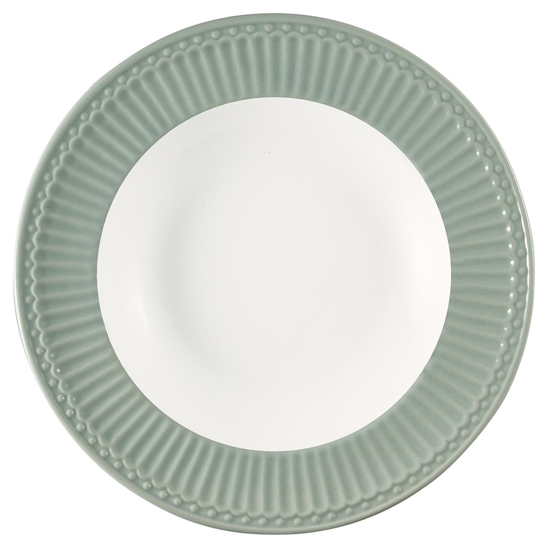 Глубокая тарелка Alice dusty mint 21,5 см