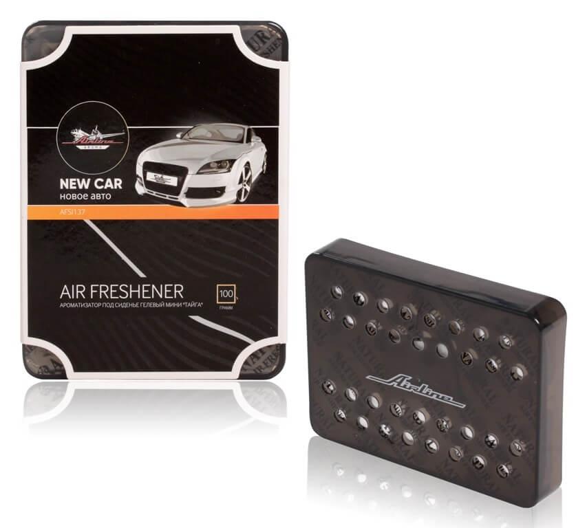 Фото - Ароматизатор под сиденье гелевый мини Тайга новое авто (AFSI137) авто