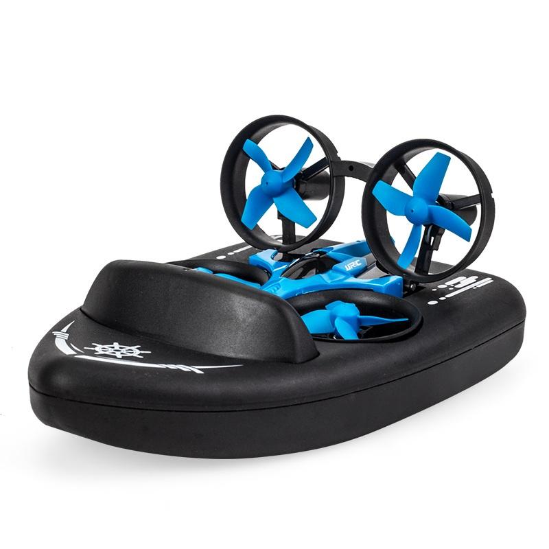 мини-дрон с дистанционным управлением 2,4 ГГц 4CH 6-осевой гироскоп Вертолет с безголовым режимом Переключатель скорости Quadcopter с дистанционным управлением со светодиодной подсветкой игрушка в подарок JJRC