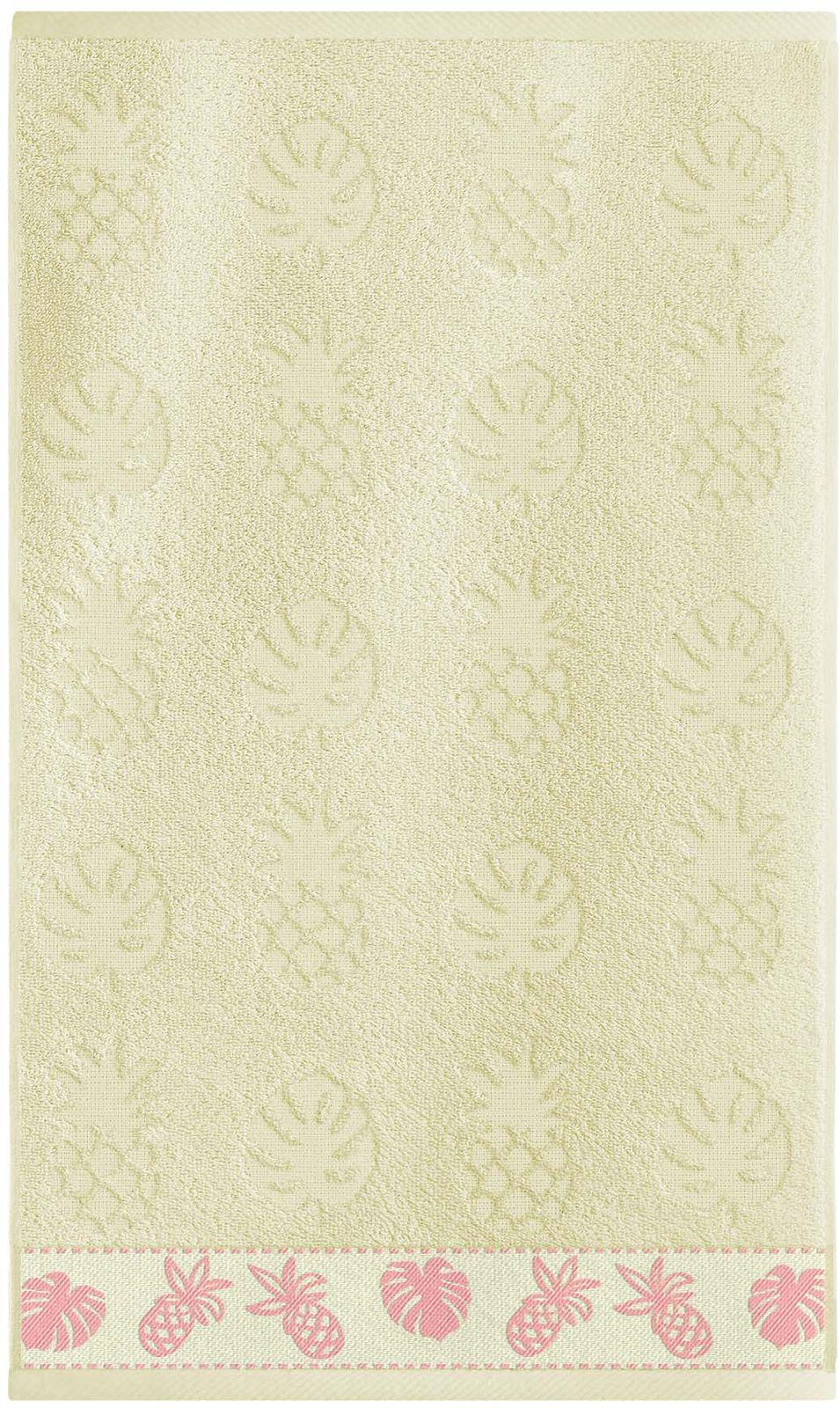 Полотенце банное Sole Mio Ананас, ваниль, 35 х 55 см