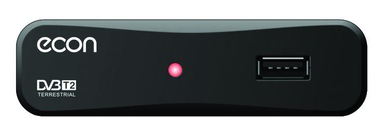 Умная SMART приставка для цифрового телевидения ECON DVB-T2/T, с медиаплеером, дополнительными функциями