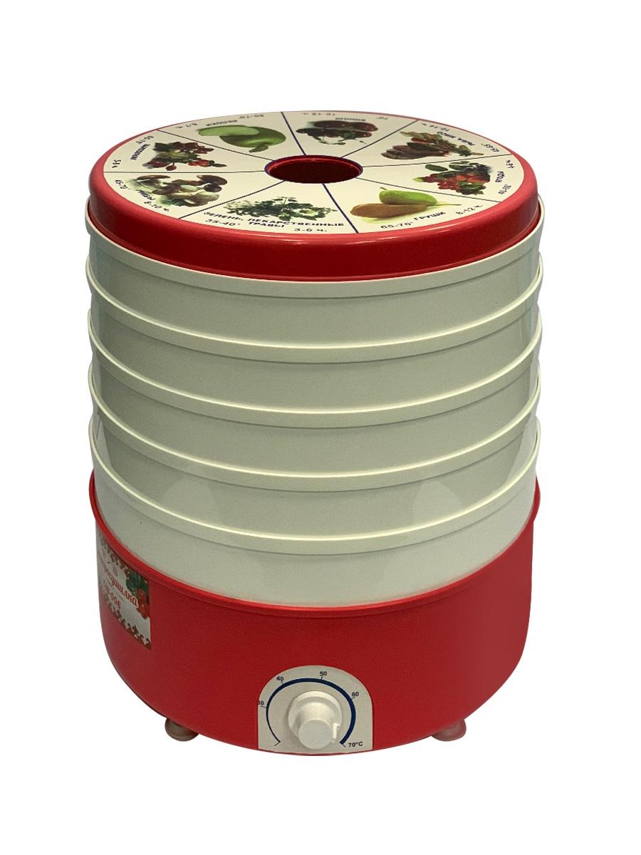 Электросушилка для овощей и фруктов Дачница СШ-006