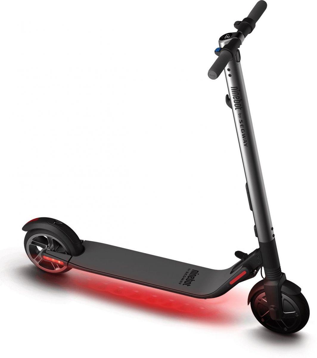 Электросамокат Ninebot KickScooter ES2 аксессуар сиденье ninebot для самоката kickscooter es1 es2 es4